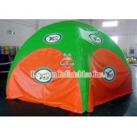 China Digital painting 4 Legs Inflatable Spider Beach Tent / Opening Inflatable Sun Shade on sale