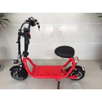 Popular 350W Electric Road Scooter Lithium Battery Mini Folding Electric Scooter Manufactures