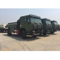 Chassis Drive Mobile Oil Tank Truck For Fuel Delivery 266 HP - 420 HP 2 Cabin Manufactures