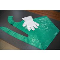 Polythene Disposable Hand Gloves For Kitchen Food Processing / Medical Use Manufactures