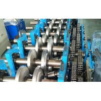 Manual Steel Profile C Z Purlin Roll Forming Machine 40 Mm-80 Mm Width 17 Stations Manufactures