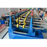 Automatic 22KW Light Duty Cable Tray Making Machine 5 Tons Hydraulic Decoiler Manufactures