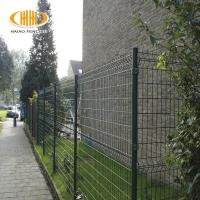 F-9 Factory Green PVC Coated Curved Wire Mesh Fence for Vietnam Manufactures