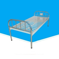 China 2130 * 960 * 500mm Hospital Folding Bed, Height Adjustable Bed For Patients on sale