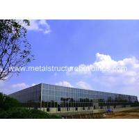 China Anti Seismic Steel Structure Warehouse Construction By Frame , Energy Efficient on sale