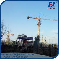 QTZ50(5008) Fixed Tower Crane 50 Meters Jib Length Specifications Manufactures