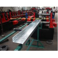 China C / Z Shape Automatic Changable Purlin Roll Forming Machine Hydraulic Punching Hole for European Customer on sale