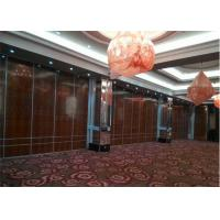Cheap Aluminium Office Partition Acoustic Room Dividers Operable Wall for Restaurant for sale