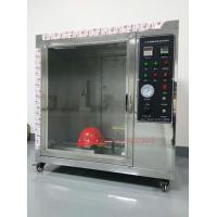 Safety Helmet Flammability Test Chamber For Hard Hat Manufacturers IS0 3873 Manufactures
