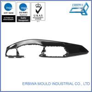 Custom Plastic Car Spare Part Injection Mold Black Interior Trim Parts Manufactures