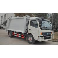 8 Cbm Garbage Compactor Truck Single Cab Rubbish Compactor Truck With Cummins Engine Manufactures
