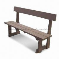 Outdoor Benches with 100% Recyclable, Eco-friendly, Saving Forest Resources Manufactures