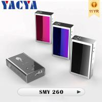Blue E-cig Smy 260 box mod Electronic Cigarette with 510 thread Manufactures
