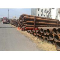 API 5L Grade A B ERW Steel Pipe Cold Drawn For Transferring Oil / Natural Gas Manufactures