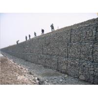 PVC Coated Hexagonal Gabion Wire Mesh With Corrosion Resistant Manufactures