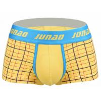 High Stretch Short Trunks Underwear , Low Rise Male Boxers Underwear Manufactures