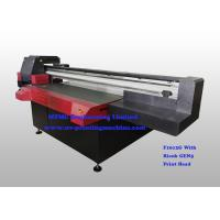 Digital Uv Flatbed Printing Machine , Wide Format Flatbed Printer High Speed Manufactures