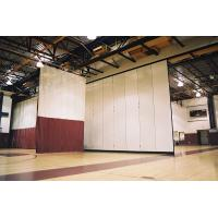 Interior Decorative Aluminium Profile Operable Gymnasium Wooden Movable Partition Wall Manufactures