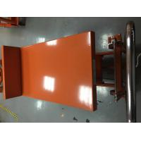 Hydraulic Lift Tilt Table For Granite Slabs , Hi - Low Mobile Hydraulic Lift Cart