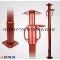 Height Up To 5 Meter Scaffolding Steel Prop JackWith Cast Iron Sleeve Nut Manufactures