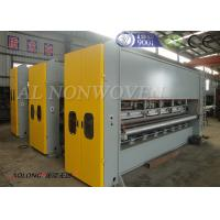 Automatic Double Board Needle Punching Machine For Colorful Embroider Nonwoven Manufactures