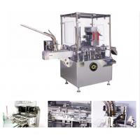 Cheap AL / PL Blister / Bottle Automatic Vertical Cartoning Machine With PLC Control for sale