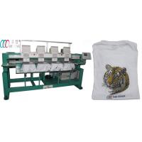 Automatic Single Head computerized Embroidery Machine for hats / towel Manufactures