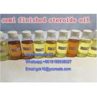 China Yellow liquid testosterone steroid injections Trenabolic 100 Trenbolone Acetate 100mg/Ml on sale