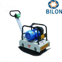 3 Phase Tamper Plate Compactor 3KW Electrical Stone Plate Compactor Manufactures