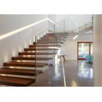 Buy cheap Contemporary Metal Floating Stairs , Wooden Staircase Designs For Homes from wholesalers