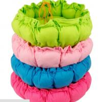 Warm Soft Plush Pumpkin Pet Bed Dog Cat Mat in different color Manufactures