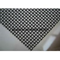 Durable Stainless Steel Woven Wire Mesh Security Window Screen 10 / 11 / 12 / 14 / 16  Mesh Manufactures