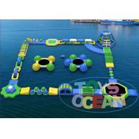 Funny Adults Inflatable Water Park For Rental Walking Amusement Manufactures