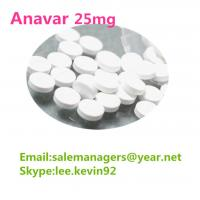 Healthy Anavar 25mg Oxandrolone Steroid Cas 53-39-4 / Weight Loss Oral Pills Manufactures