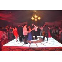 Solid Stainless Steel Portable P12.5 LED Dance Floors for Concert Background 6400 (dot/m2) Manufactures