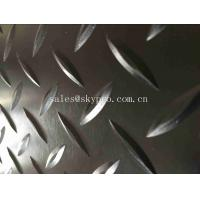 Buy cheap Heavy Weight Diamond Thread Rubber Mats Solid Safety Embossed Top IR Butyl from wholesalers