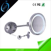 wall mounted cosmetic mirror with LED light