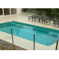 Australia Standard Tempered Glass Building Railing Customized Swimming Pool Fencing For Safety Manufactures