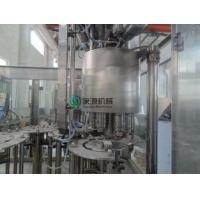 Soda Automatic Bottle Filling Machine 6000bph , Isobaric Filling Machine