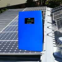 Buy cheap Multifunctional Off Grid Solar System 12 Volt Complete Home Systems 15A Blue from wholesalers