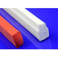 Buy cheap Multi Functional Silicone Sponge Rubber Strips Thermotolerant Fuel Resistant from wholesalers