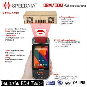 4G LTE Rugged Long Distance 125Khz Rfid Reader Mobile / RFID Card Reader Bluetooth RS232 Manufactures