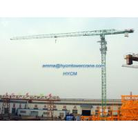 Buy cheap Flat Top Type Crane Tower QTP6425 64M 2.5T Parameter Hydraulic Climbing from wholesalers