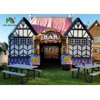 Airtight Inflatable Event Tent Outdoor Pub Cabin 2 Years Warranty Manufactures