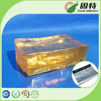 Cheap Yellow Block Pressure Sensistive Hot Melt Glues For Packaging Mail Bag Sealing for sale