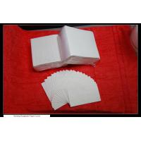 Customizable party paper wedding napkins , 25*18cm 1 Ply 16gsm Manufactures