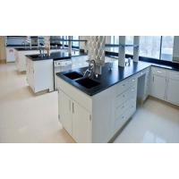 White And Black Lab Tables Work Benches With Floor Mounted Structure Manufactures