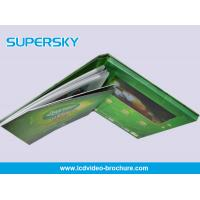 Multi Language Rechargeable LCD Video Brochure High - Definition with HiFI Speaker Manufactures
