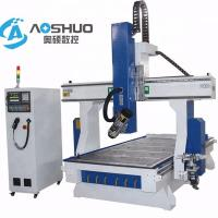 China Professional 4 Axis Woodworking CNC Machine , Rotary Cnc Router Wood Carving Machine on sale