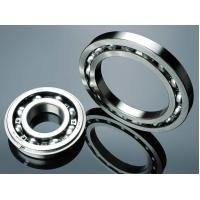 Real Slim Sealed Chrome Steel Ball Bearing Thin Section With Plastic Cage Manufactures